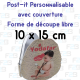 Post-it decoupe speciale avec couverture 100x150mm
