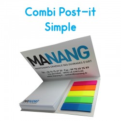 Combi Post-it Simple personnalise